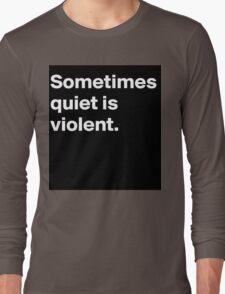 Twenty One Pilots Car Radio Long Sleeve T-Shirt