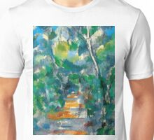 1900 - Paul Cezanne - Forest Scene Unisex T-Shirt