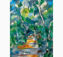 1900 - Paul Cezanne - Forest Scene Unisex T-Shirt