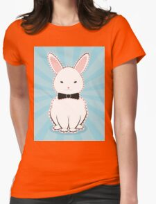 White Bunny with Bow T-Shirt