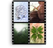 Cryptozoology, Cryptids and Forteana Series 3 Canvas Print