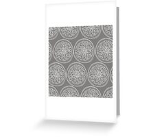White slices. Seamless pattern Greeting Card