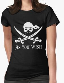 Princess Bride - Dread Pirate Roberts Womens Fitted T-Shirt