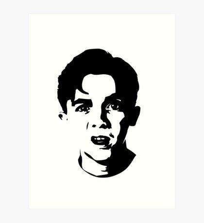 Malcolm The Middle Art Print