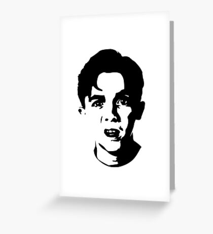Malcolm The Middle Greeting Card