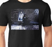 Haunted Interior and Ghost Unisex T-Shirt