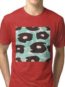 Abstract Floral 1 Tri-blend T-Shirt