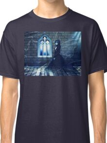 Haunted Interior and Ghost 2 Classic T-Shirt
