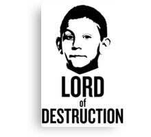 Dewey Malcolm in The Middle Lord of Destruction Canvas Print