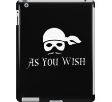Dread Pirate Roberts iPad Case/Skin