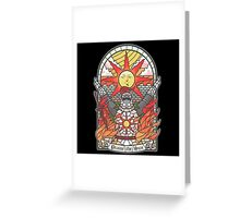 Church of the Sun Greeting Card