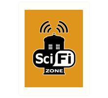 Sci-Fi Zone 2 Art Print