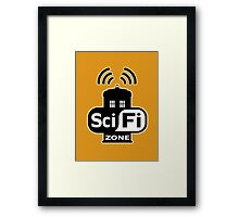 Sci-Fi Zone 2 Framed Print