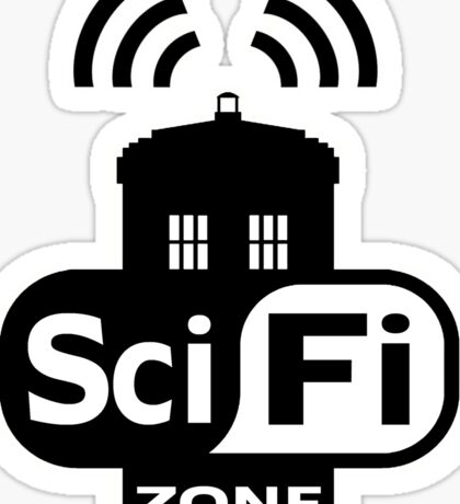 Sci-Fi Zone 2 Sticker