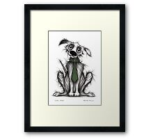 Cool dog Framed Print