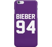 Justin Bieber 94 iPhone Case/Skin