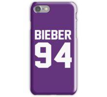 Justin Bieber 94 iPhone Case/Skin