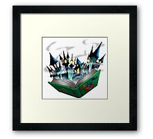 Toon - World Framed Print
