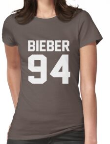 Justin Bieber 94 Womens Fitted T-Shirt