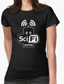 Sci Fi ZONE Womens Fitted T-Shirt