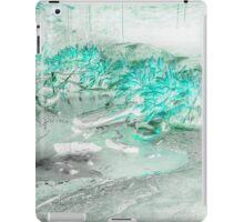 Blu Vapour iPad Case/Skin
