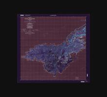 USGS TOPO Map American Samoa AS Tutuila Island West 463202 2001 24000 Inverted Unisex T-Shirt