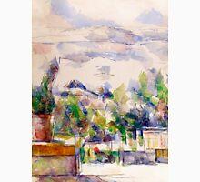 1902 - Paul Cezanne - The Terrace at the Garden at Les Lauves Unisex T-Shirt