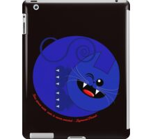 TIME SPENT WITH CATS ,IS NEVER WASTED-SIGMUND FREUD iPad Case/Skin