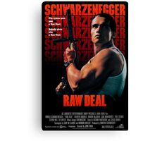 Arnold Schwarzenegger - Raw Deal Canvas Print