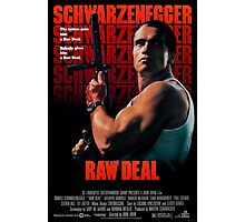 Arnold Schwarzenegger - Raw Deal Photographic Print