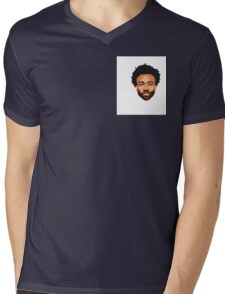Stylish Gambino Mens V-Neck T-Shirt