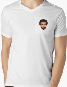 Stylish Gambino Mens V-Neck T-Shirt
