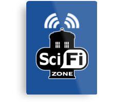 Sci Fi ZONE Metal Print