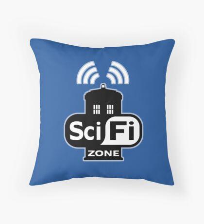 Sci Fi ZONE Throw Pillow