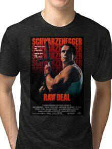 Arnold Schwarzenegger - Raw Deal Tri-blend T-Shirt