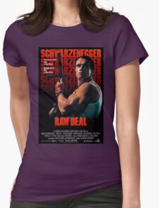 Arnold Schwarzenegger - Raw Deal Womens Fitted T-Shirt