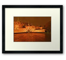 ITS A CASTLE Framed Print
