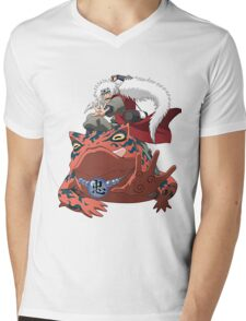 frog senin Mens V-Neck T-Shirt