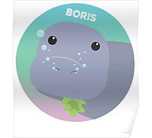 Boris the Dugong Poster