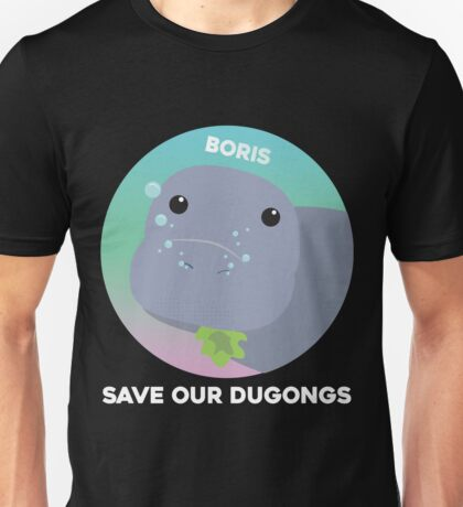 Boris the Dugong Unisex T-Shirt