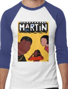 Martin (Yellow) Men's Baseball ¾ T-Shirt