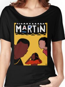 Martin (Yellow) Women's Relaxed Fit T-Shirt