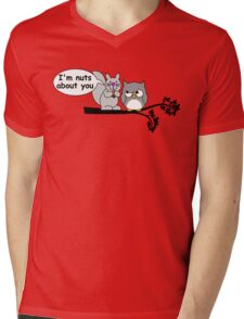I'm nuts about you Mens V-Neck T-Shirt