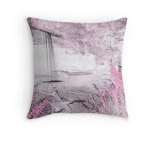 Pretty and Pink Vapor  Throw Pillow