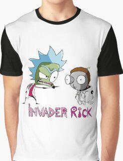 invader rick Graphic T-Shirt