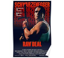 Arnold Schwarzenegger - Raw Deal Polar Poster
