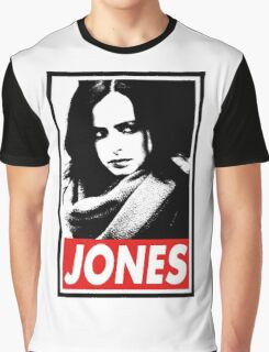 JESSICA JONES - Obey Design Graphic T-Shirt