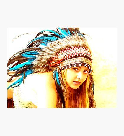 Indian warrior 13 Photographic Print