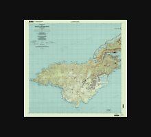 USGS TOPO Map American Samoa AS Tutuila Island West 463202 2001 24000 Unisex T-Shirt
