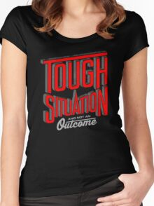 Tough situation Women's Fitted Scoop T-Shirt
